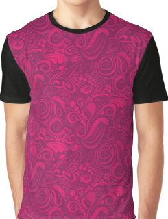 Pink Universe Graphic T-Shirt
