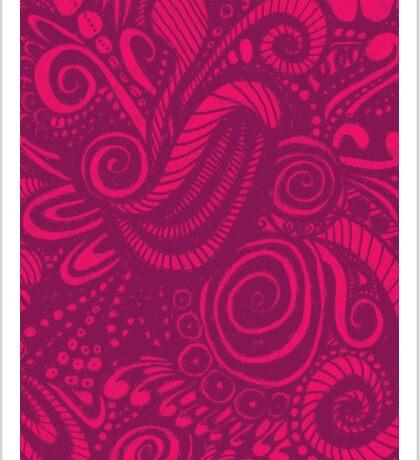 Pink Universe Sticker
