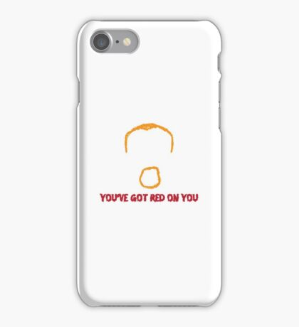 Shaun of the Dead Artwork Quote iPhone Case/Skin