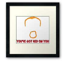 Shaun of the Dead Artwork Quote Framed Print