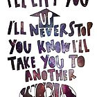 Another World Lyrics by maddiedrawings