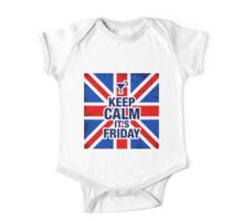 Keep Calm It's Friday One Piece - Short Sleeve