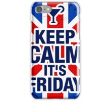 Keep Calm It's Friday iPhone Case/Skin