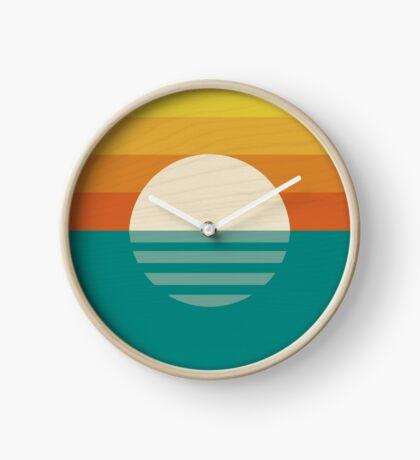 Sun Rays Clock