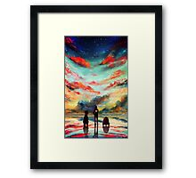 To the Stars, Baby Framed Print