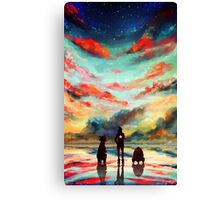 To the Stars, Baby Canvas Print