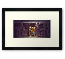 All the Little People Framed Print
