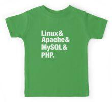 LAMP: Linux & Apache & MySql & PHP - Beatles Parody Kids Tee
