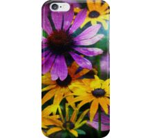 Cone Flower Flair iPhone Case/Skin