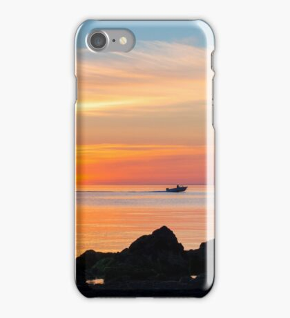 Heading home for the night iPhone Case/Skin