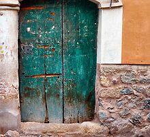 The old green door by lenscraft