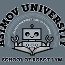 I Majored in Robot Law by vonplatypus