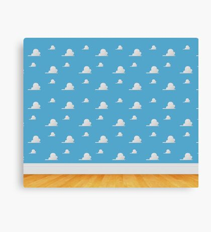 Toy Story Clouds  Canvas Print