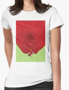 Going to Grandmother's House Womens Fitted T-Shirt