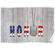 Military Honor Poster