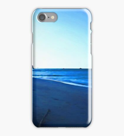 Driftwood on a Beach in the Dying Light iPhone Case/Skin