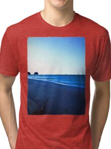 Driftwood on a Beach in the Dying Light Tri-blend T-Shirt