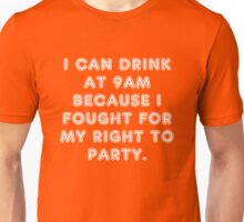 Fight for Your Rights Unisex T-Shirt