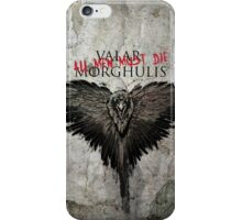 Valar Marghulis Crow iPhone Case/Skin