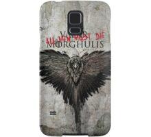 Valar Marghulis Crow Samsung Galaxy Case/Skin