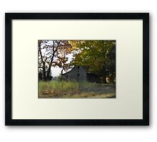 Homeplace and Autumn Framed Print