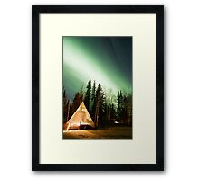 Northern Lights 2 Framed Print