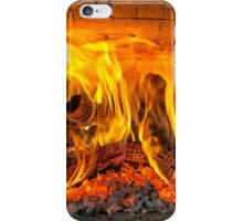 Into the fire... iPhone Case/Skin