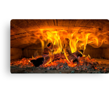 Into the fire... Canvas Print