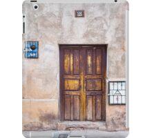 Doors of Bolivia iPad Case/Skin