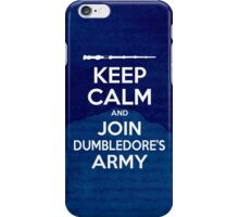 Keep Calm and Join Dumbledore's Army iPhone Case/Skin