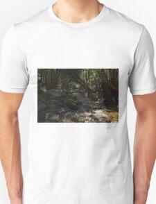 Deep forest tranquility Unisex T-Shirt