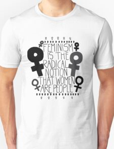 Women are People #1 T-Shirt