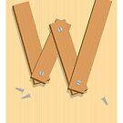 W is for Wood by Jason Jeffery