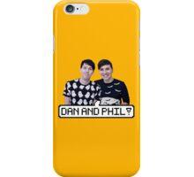 Dan and Phil! iPhone Case/Skin
