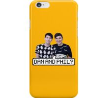 Dan and Phil! iPhone Case/Skin