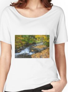 Pigeon Creek, Muskoka  Women's Relaxed Fit T-Shirt