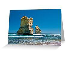 Cliff Remnants along the Great Ocean Road Greeting Card