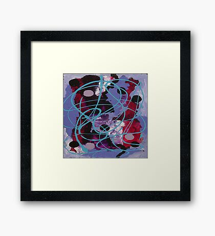 Join The Dots Framed Print