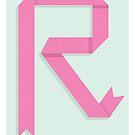 R is for Ribbon by Jason Jeffery