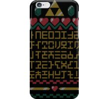 ABCs of Time Ugly Sweater iPhone Case/Skin