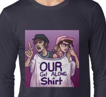 Get along, Griffsnuff and Witchpaws Long Sleeve T-Shirt