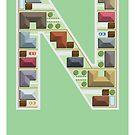 N is for Neighbourhood by Jason Jeffery