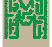 M is for Maze by Jason Jeffery