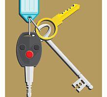 K is for Keys by Jason Jeffery