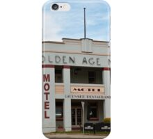 Golden Age Motel, Omeo iPhone Case/Skin