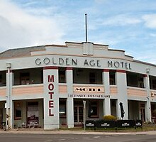 Golden Age Motel, Omeo by DavidsArt