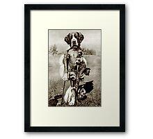High Plains Predator. Framed Print