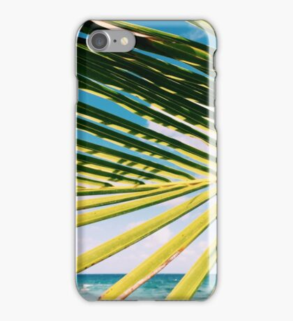 Palm of shades iPhone Case/Skin