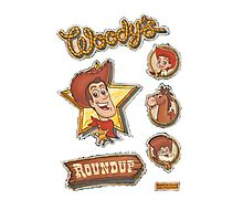 Woody's Roundup Photographic Print