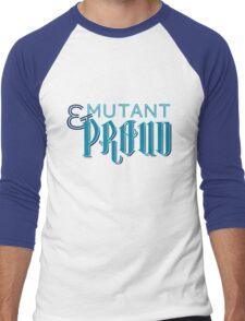 Mutant & Proud Men's Baseball ¾ T-Shirt